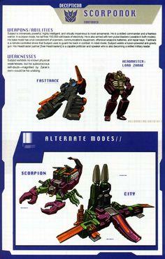 Transformers Universe - Gallery: G1 Scorponok