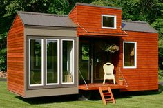 Tall man tiny house - This modern tiny house was built to accommodate tall people. Description from pinterest.com. I searched for this on bing.com/images