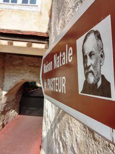 La maison natale de #Pasteur à #Dole