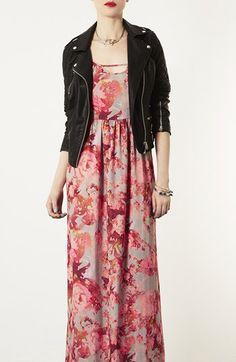 Topshop 'Blur' Floral Maxi Dress | Nordstrom