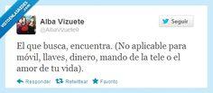 Visto en las Redes » Habría que modificar el refranero por @albavizuete9