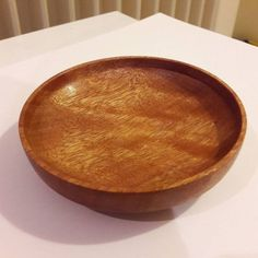Coupelle en sapelli   #woodworking #sapelli #acajou #bois... IFTTT Tumblr