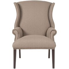 Orient Express Furniture Quinn Arm Chair - Espresso + Oak ($559) ❤ liked on Polyvore featuring home, furniture, chairs, accent chairs, woods furniture, oakwood furniture, oak armchair, oak furniture and oak wood furniture