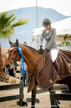MMB obsessed.  she rides as well as she does AND looks like this? (adore the brown boots!!)