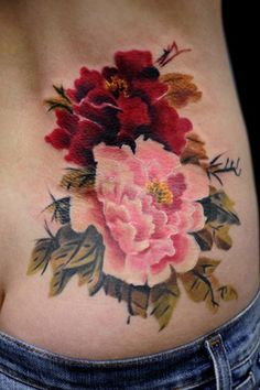 awesome Watercolor tattoo - #tattoofriday – Flower Tattoo | Follow the Colours...