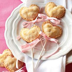 Heart Pie Pops...so going to do this with the hand pie maker thing I bought at Target
