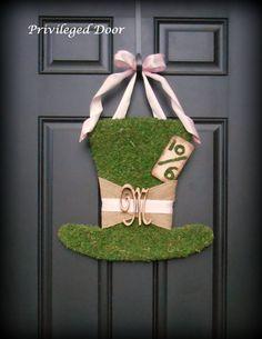 Alice in Wonderland Wreath. Alice In Wonderland by PrivilegedDoor