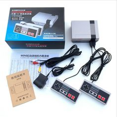 Buy online US $33.00  NES mini video game console 8 Bit Video Game Built In 600 childhood Classic Games 2 Handle control Games Consoles electronic toy  #mini #video #game #console #Video #Game #Built #childhood #Classic #Games #Handle #control #Consoles #electronic  #CyberMonday