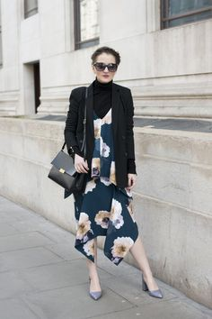 Pin for Later: The Fashion Crowd Hit the Streets of London in Style Day 1