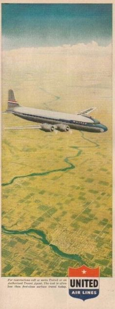 United Airlines DC-7