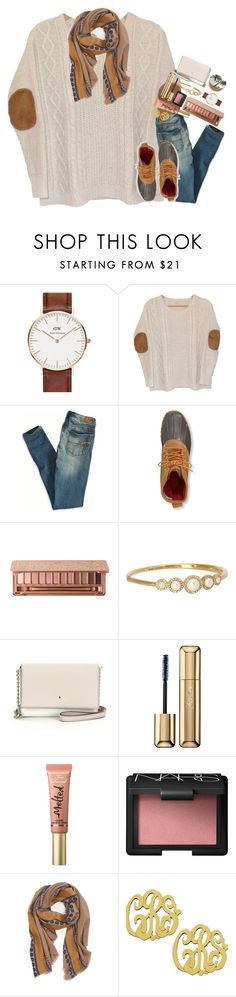 """""""friday night football>>😻"""" by sdyerrtx ❤ liked on Polyvore featuring Daniel Wellington, Urban Outfitters, American Eagle Outfitters, L.L.Bean, Urban Decay, Kate Spade, Guerlain, Too Faced Cosmetics, NARS Cosmetics and Hinge"""