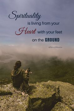 ♡.... with your feet on the ground...