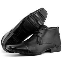Resultado de imagem para sapato cano medio Men Dress, Dress Shoes, Oxford Shoes, Lace Up, Fashion, Canoe, Shoes, Boots, Formal Shoes