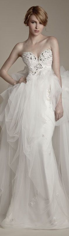 Ersa Atelier Wedding Preview 2013  Collection #wedding #dress #bride