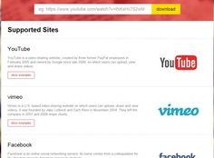 Savedeo, para bajarse vídeos de Youtube, vimeo, instauramos, Facebook,....