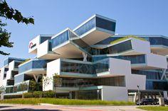 Herzog & de Meuron, Actelion business center, Basel CH