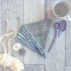 Bunting prep..  #wildminds #handmade #bunting #indianfabric #sewing #crafting #design #homedecor #bohowedding #babyshower #interiordesign #bohochic #decor #diy