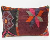 16x24 easter kilim pillow kilim lumbar pillow kilim pillow striped pillow cover decorative couch pillow kilim pillow garden decor rugs 26984