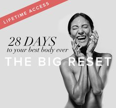 Your Personalised Roadmap To Let Go Of Discomforts & Weight The Big Reset is designed to kickstart your metabolism, reset your hormones and get your best body ever. This 28-day online program offers you a tailored and holistic solution, using personalized nutrition plans, grocery lists, and recipes, as well as mindfulness and exercise guidance. How is this different from other programs? We focus on the root causes of your problems: We help increase your metabolic efficiency by telling you to…