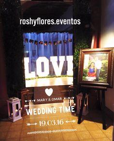 Boda M&O #wedding #party #decorations #roshyflores.eventos