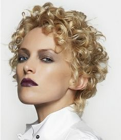 Short Haircuts for Curly Hair | Short-hairstyles-for-curly-hair