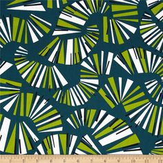 Jazz Jam Keyboard Green from @fabricdotcom  Designed by Jane Dixon for Andover, this cotton print is perfect for quilting, apparel and home decor accents.  Colors include white, black and shades of green.