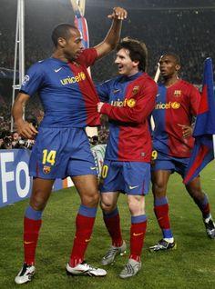 Henry, Messi i Eto'o