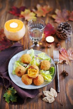 Croquettes de butternut et pommes de terre Veggie Recipes, Vegetarian Recipes, Healthy Recipes, Salty Foods, Christmas Cooking, Love Food, Tapas, Food Porn, Food And Drink