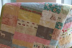 greet the day with a song by suzettra, via Flickr... Such fun fabrics. There are a lot of faves in there!