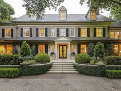 Georgian house in Dallas Texas