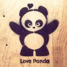 panda hugs.