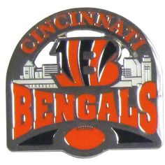 """Checkout our #LicensedGear products FREE SHIPPING + 10% OFF Coupon Code """"Official"""" Cincinnati Bengals Glossy Team Pin - Officially licensed NFL product Licensee: Siskiyou Buckle Classic lapel pin High polish gloss finish  Cincinnati Bengals - Price: $14.00. Buy now at https://officiallylicensedgear.com/cincinnati-bengals-glossy-team-pin-sfp010c"""