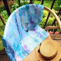 スカーフみたいな風呂敷『佐渡の海と空』|その他バッグ|KOZO|ハンドメイド通販・販売のCreema