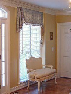 Valance ideas for Family Room