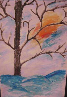 Talvinen puu