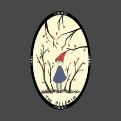 shop the pilgrim over the garden wall t shirts designed by elise as well as other over the garden wall merchandise at teepublic - Over The Garden Wall Merchandise