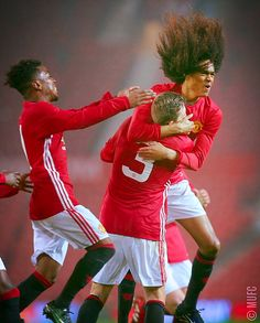 U18s: Tahith Chong celebrates his spectacular goal!