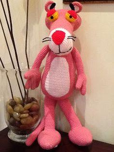Amigurumi Pantera Cor de Rosa - Pink Panther Amigurumi - YouTube | 314x236