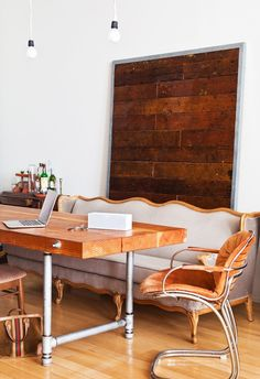 Timber Paneling | Lounge