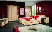 Ložnice z masivu borovice přírodní. Bed, Furniture, Home Decor, Decoration Home, Stream Bed, Room Decor, Home Furnishings, Beds, Arredamento
