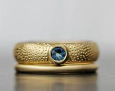 sistema de venda de boda de oro anillos de boda de por lolide
