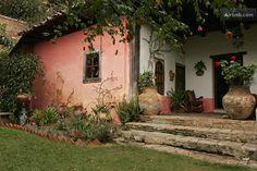 La Casa Rosada old colonial house