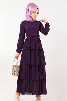 Girls Dresses Sewing, Modest Dresses, Modest Outfits, Elegant Dresses, Formal Dresses, Modest Clothing, Abaya Fashion, Muslim Fashion, Modest Fashion
