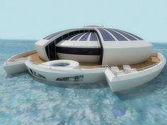 Luxurious solar floating resort designed by Italian designer Marco Puzzolante (1)