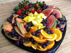 fruit platter ideas | Foodie Journey: Fresh Fruit Platter for a Crowd
