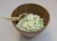 Fresh and Green White Rice Salad