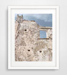 Tower print Greece Naxos Greek isles travel by Ikonolexi on Etsy