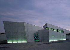 Vitra fire station, Weil am Rhein, Zaha Hadid