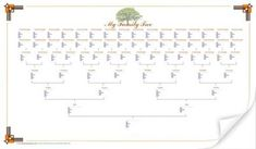 7 Best Family Tree Templates Images Tree Templates Family