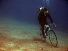 diving and biking, it's not impossible!